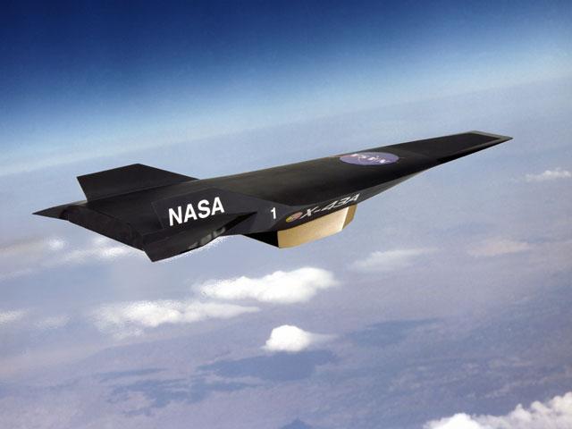 Vehículo experimental hipersónico X43A de la NASA