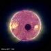 Eclipse solar visto desde el espacio