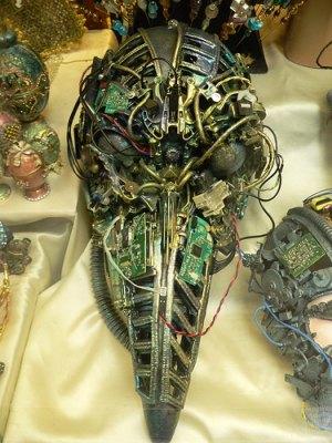 Arte Cibernético, recicla tu viejo ordenador