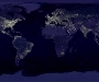 Earth (and our lights) at night