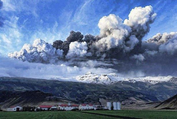 Volcan Eyjafjallajokull (Islandia)
