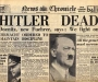 "The News Chronicle: ""Hitler Dead"" [2nd May 1945]"