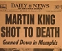 "Daily News: ""Martin King Shot to Death: Gunned Down in Memphis"" [5th April 1968]"