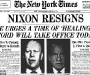 "The New York Times: ""Nixon Resigns"" [9th August 1974]"