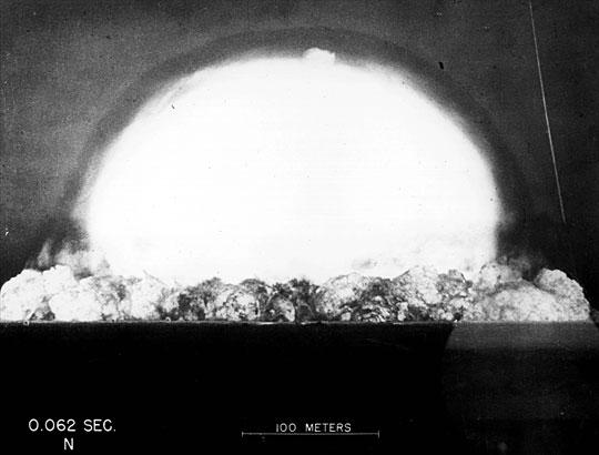 Prueba nuclear Trinity 04