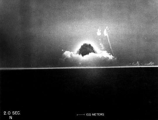 Prueba nuclear Trinity 06