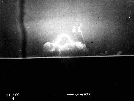 Prueba nuclear Trinity 07