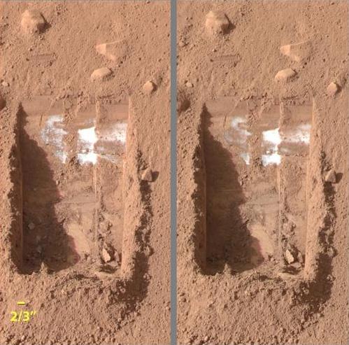 ¿Hielo en Marte?