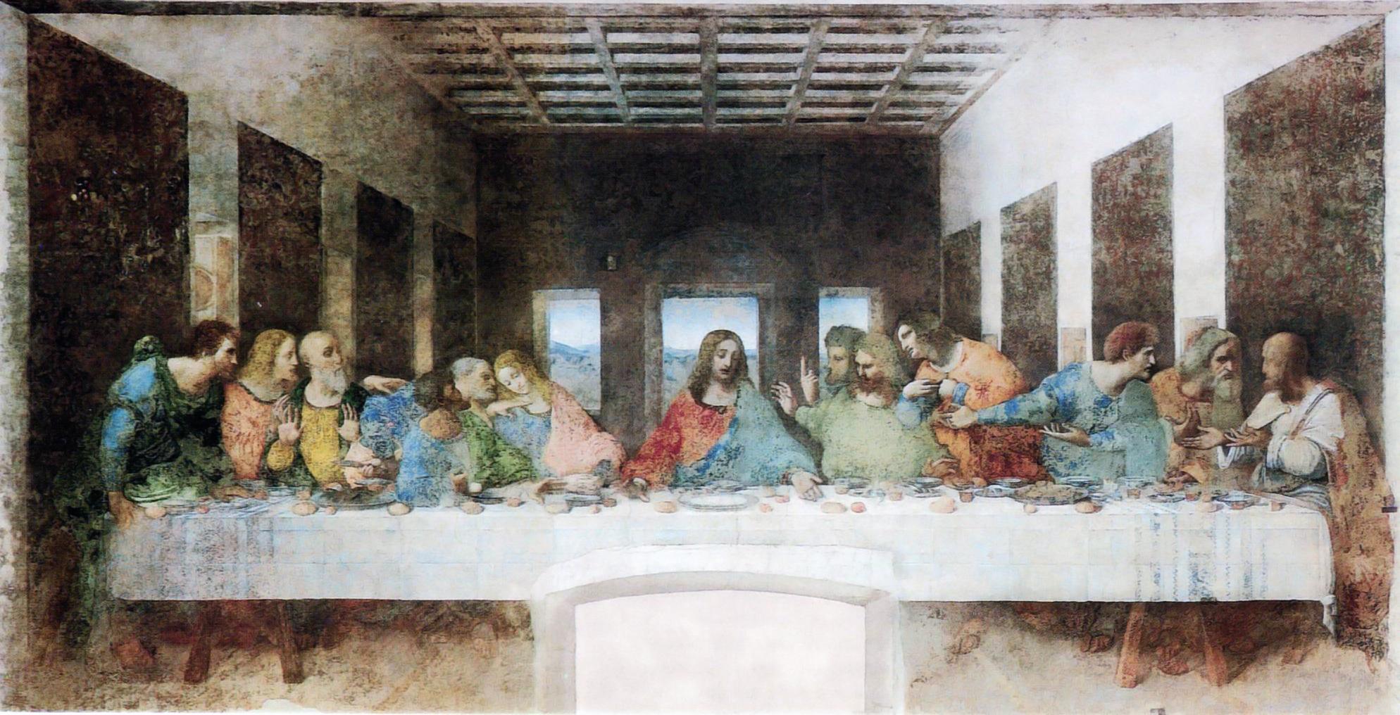 La última cena - Leonardo da Vinci