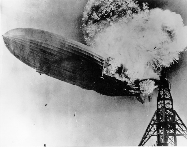 El dirigible Hindenburg