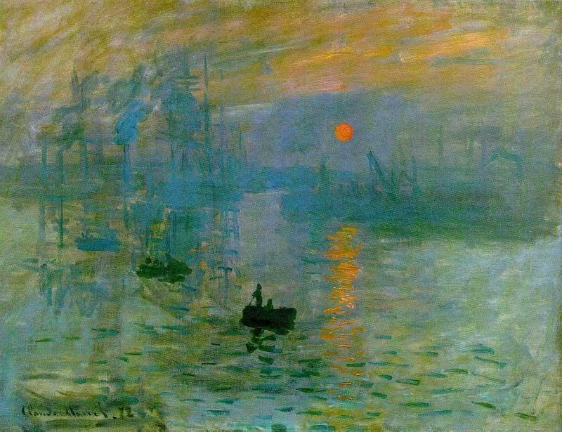 Sol Naciente - Claude Monet