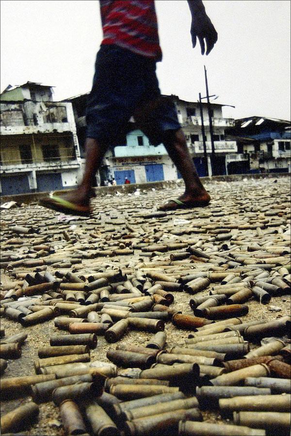 Las fotos de la historia: War Underfoot