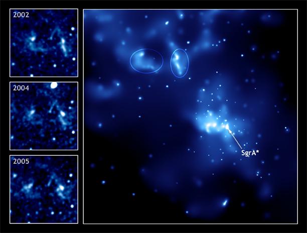Agujero negro en el centro de la Vía Láctea