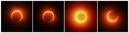 Eclipse de sol en 2009