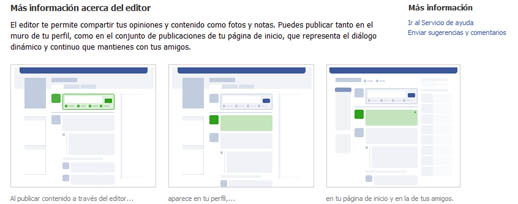 Nueva apariencia de Facebook