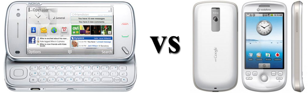 Nokia n97 vs HTC Magic
