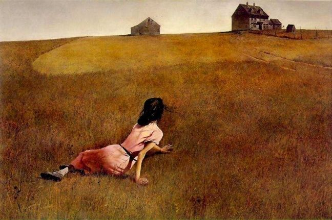 El mundo de Cristina - Andrew Wyeth