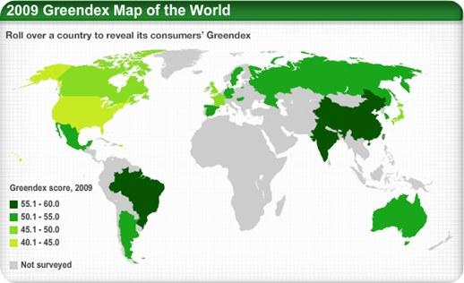 Greendex, el índice ecológico