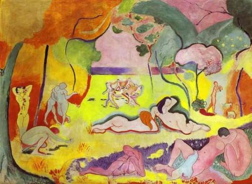 La alegría de vivir - Henry Matisse