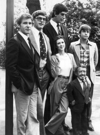 Reparto original de Star Wars