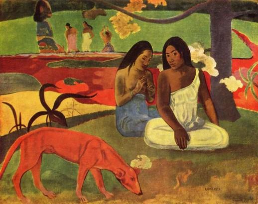 Area Area - Paul Gauguin