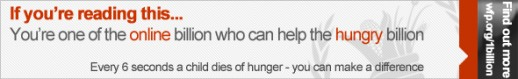 World Food Day Is No Food Day For More Than A Billion Of World's Hungry