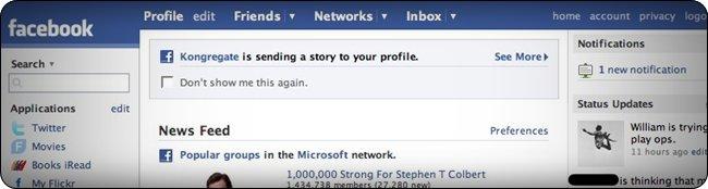 Spam en Facebook