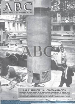 Portada ABC 4 de noviembre de 1971