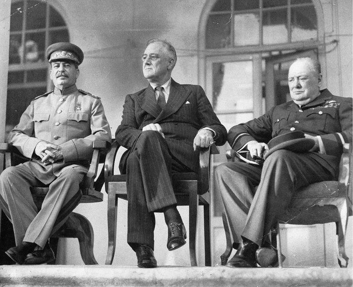 The Big Three - Conferencia de Teherán 1943