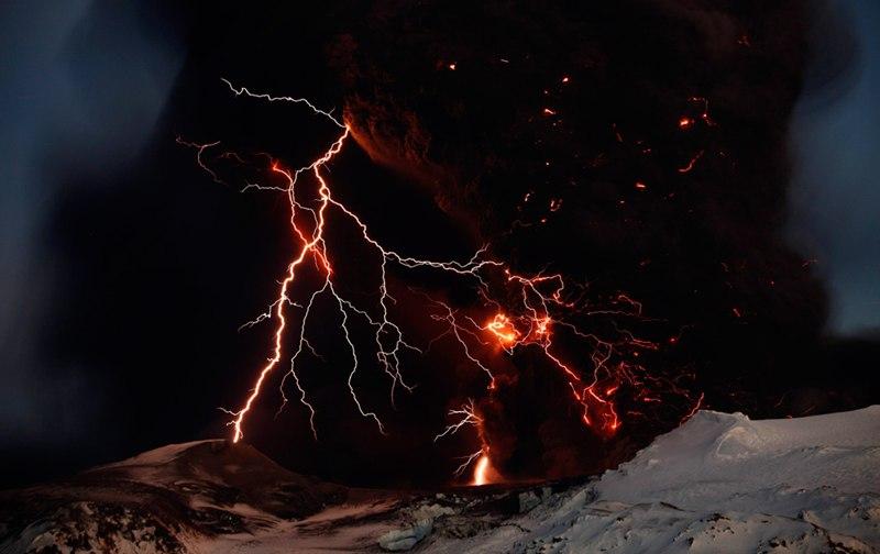 Erupción volcán Eyjafjalla