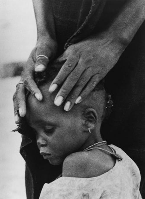 Ovie Carter, Los rostros del hambre