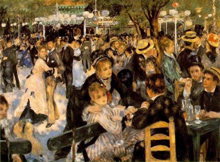 Le moulin de la galette - Pierre-Auguste Renoir