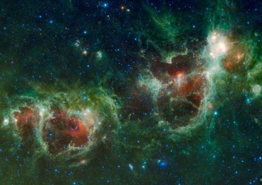 Nebulosas Corazón y Alma