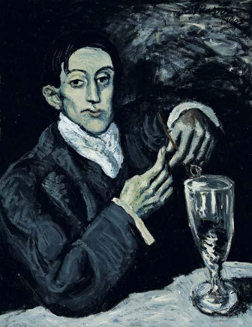 El bebedor de absenta - Picasso