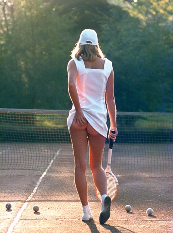 La chica del tenis