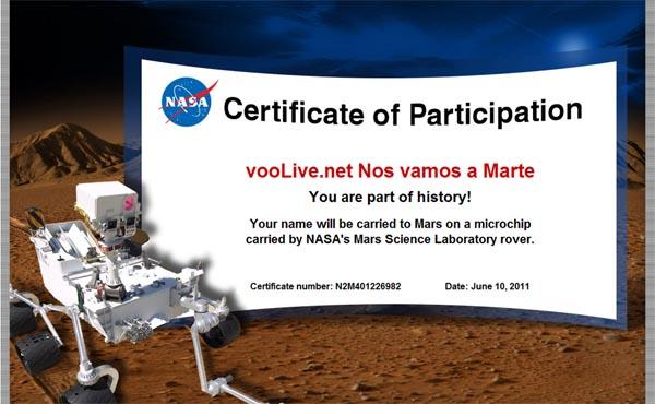 Nos vamos a Marte