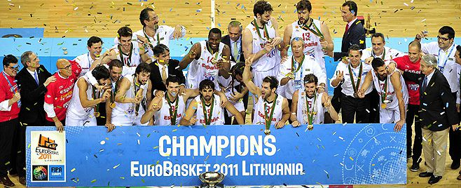 España campeona de europa