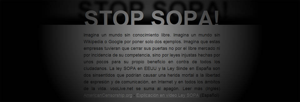 SOPA y SINDE